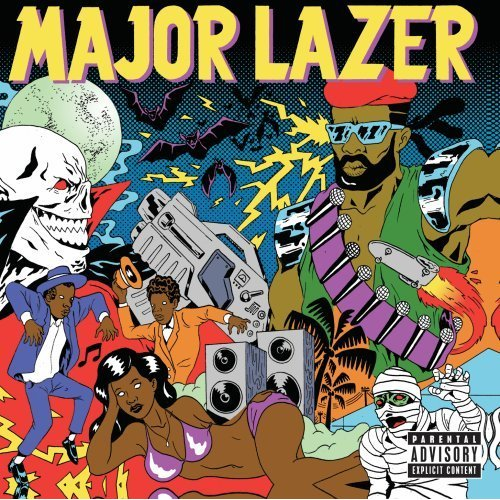 Major Lazer 'Guns don't kill people...lazer-do'